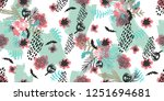 illustration of  flowers ... | Shutterstock . vector #1251694681