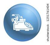 desk typewriter icon. simple... | Shutterstock .eps vector #1251761404