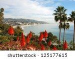 California Coastline With...