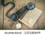 Vintage Phone Handset  Pocket...