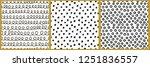 3 hand drawn graphic vector...   Shutterstock .eps vector #1251836557