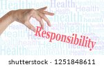 take responsibility for your...   Shutterstock . vector #1251848611