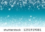 new year snow background.... | Shutterstock .eps vector #1251919081