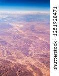 aerial view of the sinai desert ... | Shutterstock . vector #1251928471