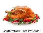 christmas or thanksgiving...   Shutterstock . vector #1251942034