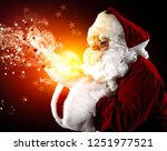 santa claus and christmas time. ... | Shutterstock . vector #1251977521