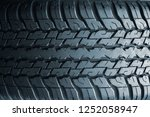 tyre background.car tyres close ... | Shutterstock . vector #1252058947