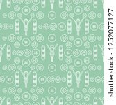seamless pattern with zipper ... | Shutterstock .eps vector #1252077127