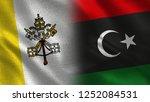 vatikan and libya   3d...   Shutterstock . vector #1252084531