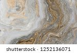 white marble pattern with curly ... | Shutterstock . vector #1252136071