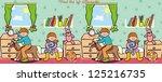 alarma,bebé,bola,oso,cama,mesita de noche,armadura de la cama,libro,chico,alfombra,chifonier,niño,animal de los niños,acertijo,sofá