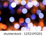festive background with light... | Shutterstock . vector #1252195201