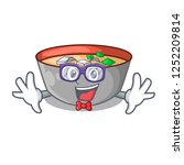 geek asian soup cup isolated on ... | Shutterstock .eps vector #1252209814