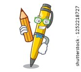 student pen can be used for... | Shutterstock .eps vector #1252218727
