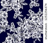 abstract elegance seamless... | Shutterstock .eps vector #1252256374
