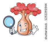 detective hand bottle tree in... | Shutterstock .eps vector #1252293544
