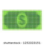 usd banknote halftone dotted... | Shutterstock .eps vector #1252323151