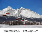 Cable Car In High Tatras Ski...