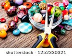 jewelry making and beading... | Shutterstock . vector #1252330321