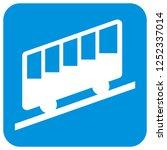 cableway  blue frame  vector...   Shutterstock .eps vector #1252337014