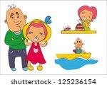 family  love  relationships ... | Shutterstock .eps vector #125236154