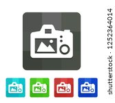 camera live view   app icon   Shutterstock .eps vector #1252364014