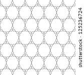 delicate pattern in arabian... | Shutterstock . vector #125236724