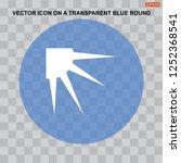 sun vector icon for web design... | Shutterstock .eps vector #1252368541