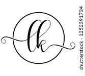 lk icon logo | Shutterstock .eps vector #1252391734