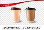 vector realistic 3d... | Shutterstock .eps vector #1252419157