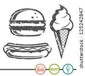 Hamburger  Hot Dog  Ice Cream...