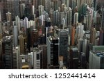view of contemporary towers of... | Shutterstock . vector #1252441414