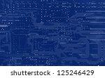 circuit board | Shutterstock . vector #125246429
