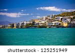 elounda city  crete  greece | Shutterstock . vector #125251949