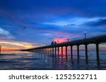 sky on twilight time and... | Shutterstock . vector #1252522711