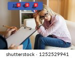 woman visiting psychologist and ...   Shutterstock . vector #1252529941