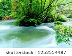 "tourist attraction ""oirase... | Shutterstock . vector #1252554487"