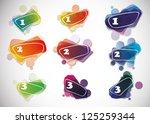vector speech bubbles. eps10 ... | Shutterstock .eps vector #125259344