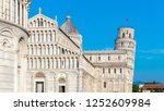 day view of pisa cathedral with ... | Shutterstock . vector #1252609984