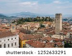 a view of citta alta  in... | Shutterstock . vector #1252633291