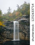 awosting falls  at minnewaska... | Shutterstock . vector #1252633714