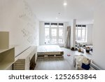 building is a new house for the ... | Shutterstock . vector #1252653844