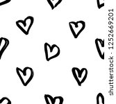 seamless pattern with hand...   Shutterstock .eps vector #1252669201