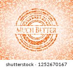 much better abstract orange... | Shutterstock .eps vector #1252670167
