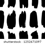 seamless pattern with hand...   Shutterstock .eps vector #1252671097
