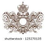 coat of arms   Shutterstock .eps vector #125270135