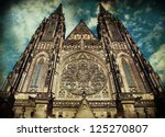 Saint Vitus Cathedral In Pragu...