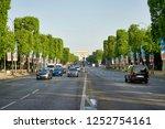 paris  france   may 26  2018 ... | Shutterstock . vector #1252754161