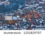 a panoramic view of the city...   Shutterstock . vector #1252829707