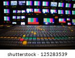 television broadcast gallery | Shutterstock . vector #125283539